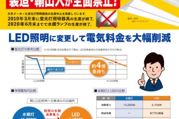 【LED照明に変えませんか】ご存知ですか?水銀ランプ製造・輸出入が全面禁止になることを。